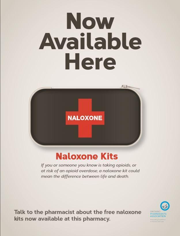 naloxone kits now available at gabriel pharmacy